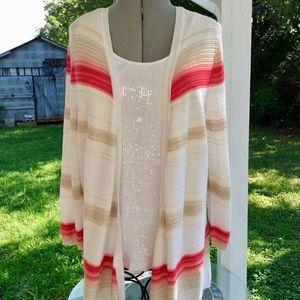 WHITE House / BLACK Market size XL Sweater Jacket